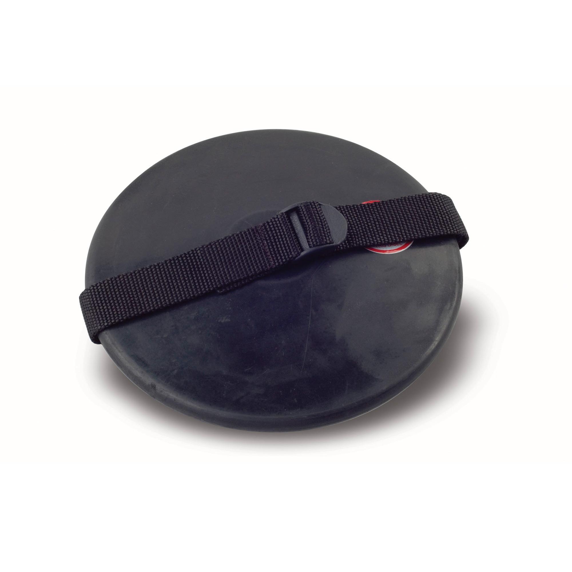 Rubber Practice Discus w/strap - 2 kilo College